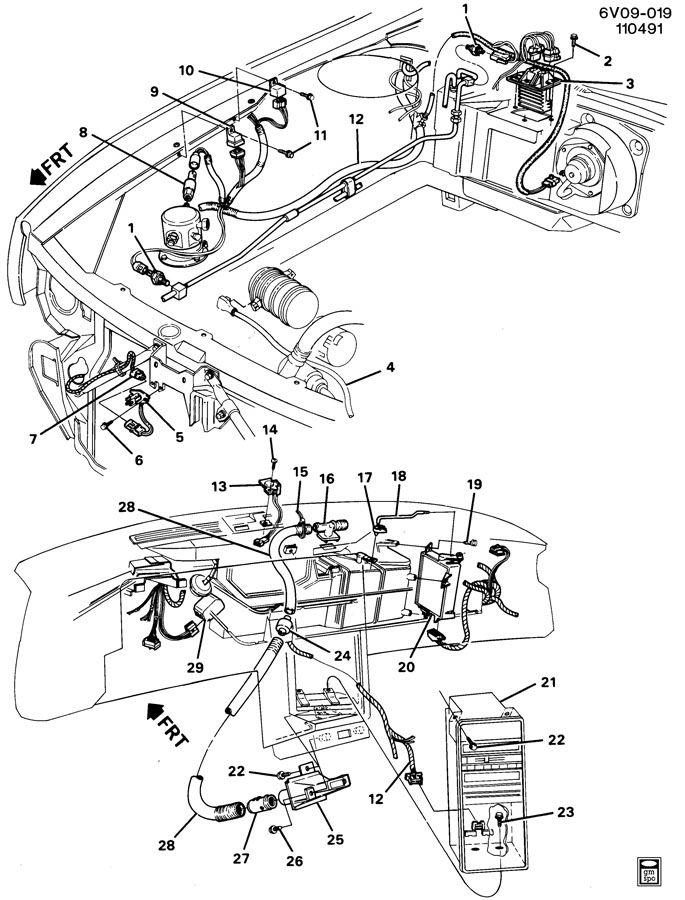 1987 cadillac deville fuse box diagram