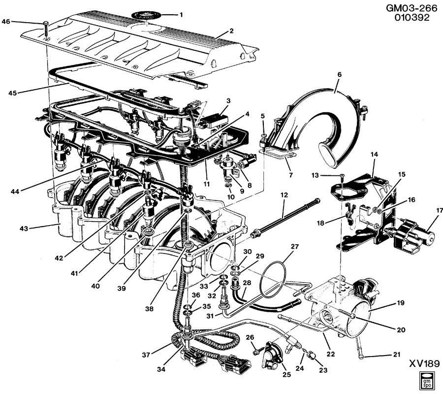 Cadillac northstar v8 engine diagram