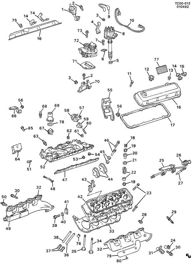 ENGINE ASM-7.4L V8 PART 2
