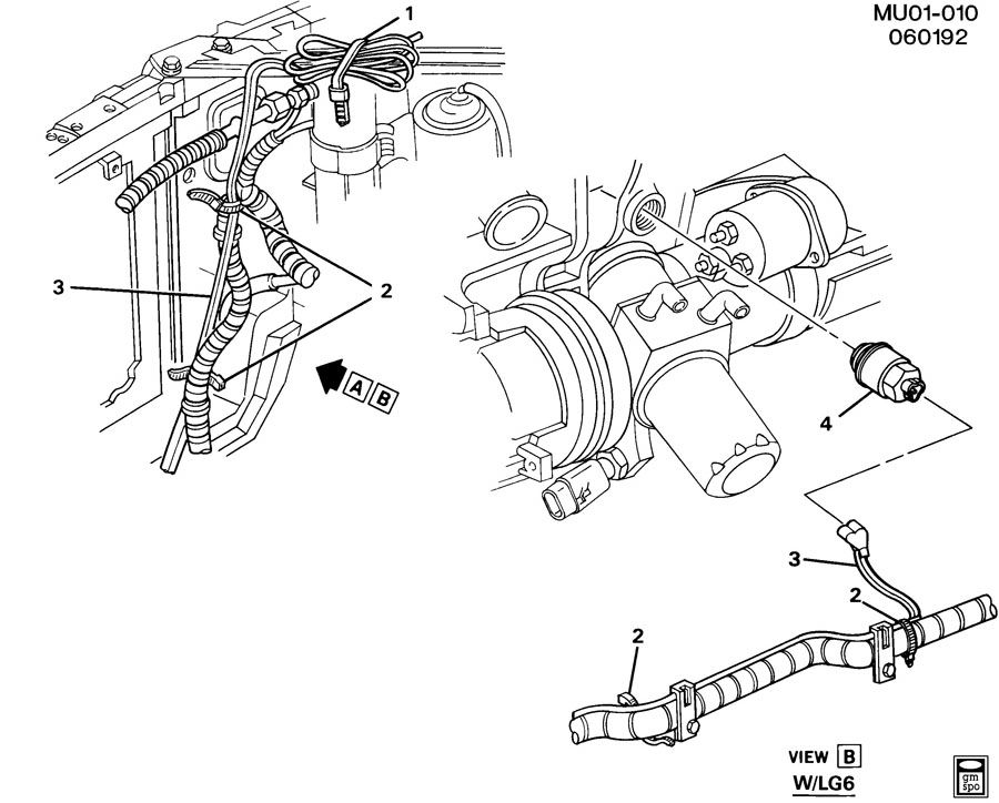 1996 Chevy Lumina Temperature Sensor Wiring Pictures to