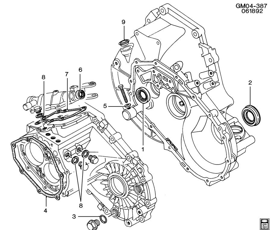 Chevrolet Cavalier 5-SPEED MANUAL TRANSAXLE PART 4