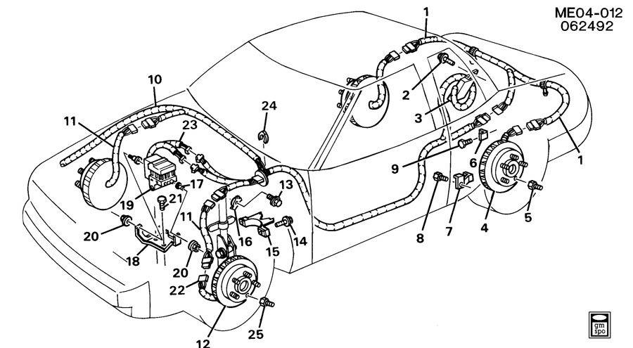 1966 Pontiac Le Mans Wiring Harness. Pontiac. Auto Wiring