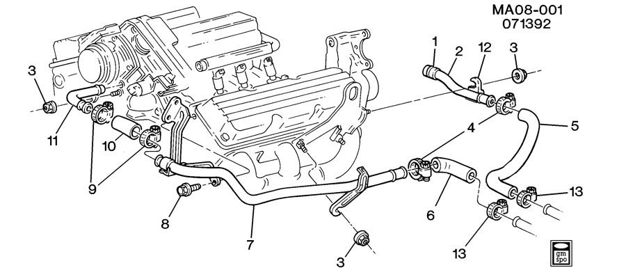 Service manual [How To Replace Radiator Hoses 1998 Buick