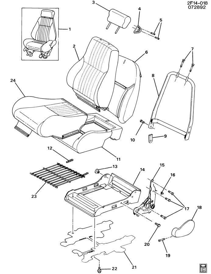 SEAT ASM/FRONT