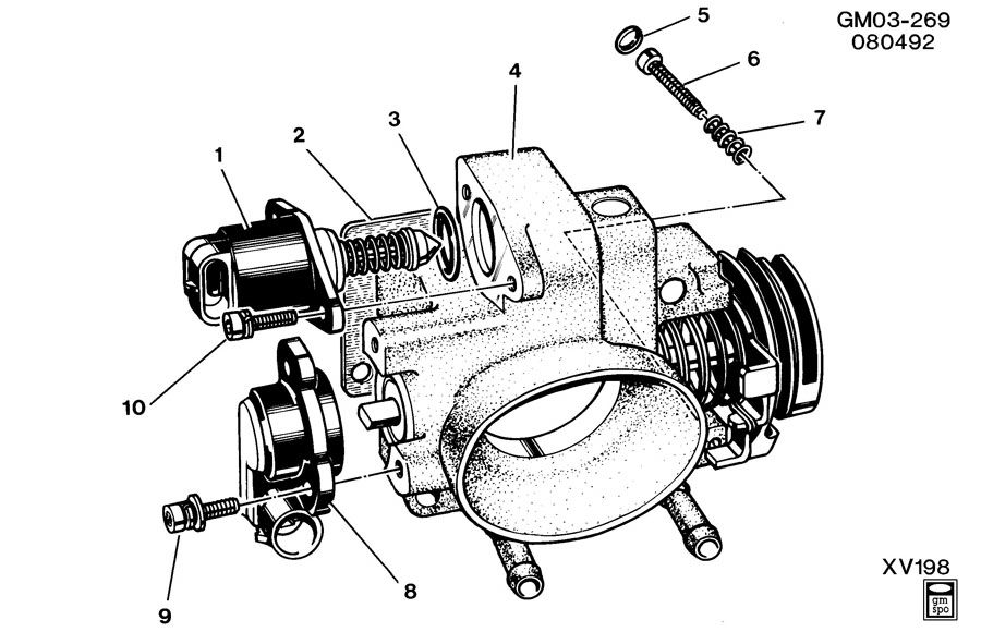 Service manual [Central Multiport Fuel Injector Fits 1993