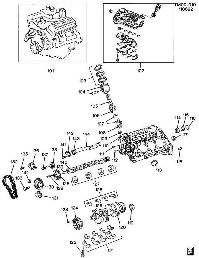 4 3l V6 Vortec Engine Parts Diagram, 4, Free Engine Image