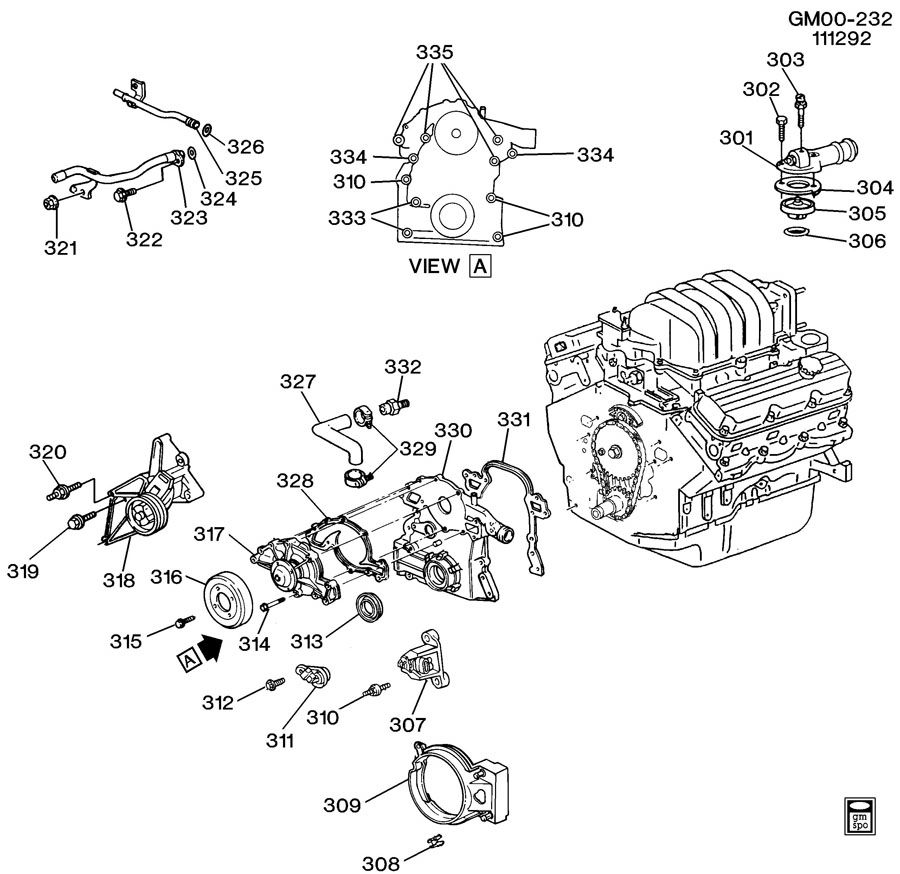 Chevy 4 3 Vortec Engine Diagram, Chevy, Free Engine Image