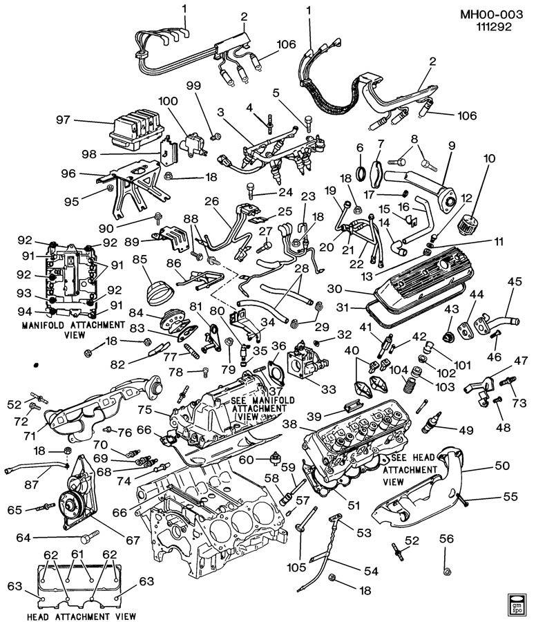 ENGINE ASM-3.0L V6 PART 2
