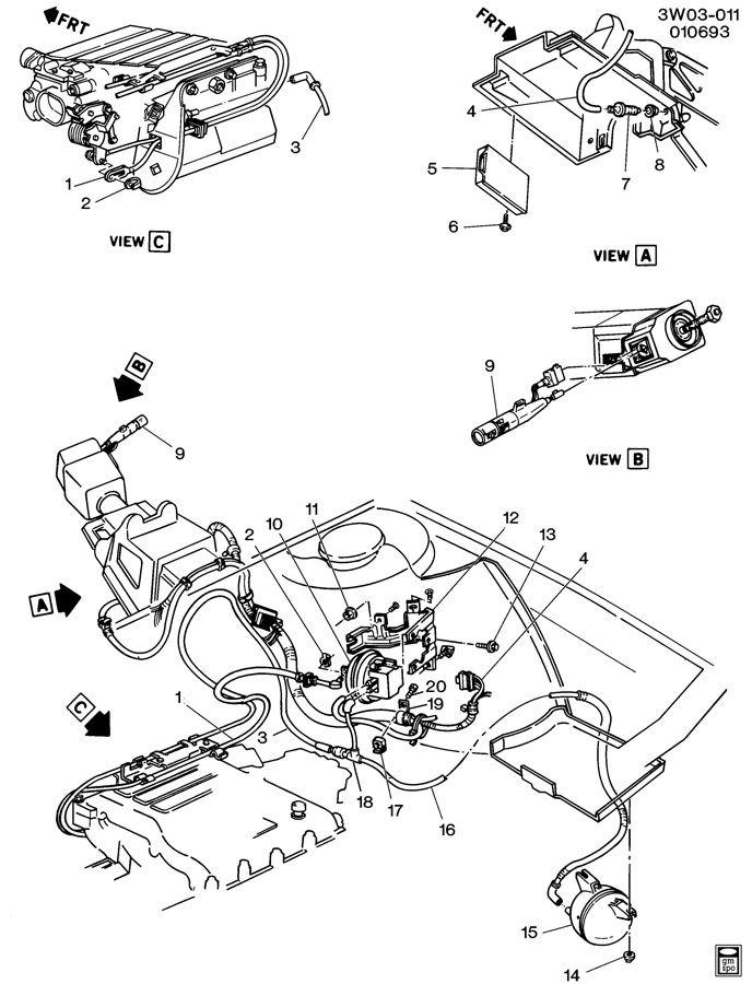 1993 Oldsmobile Cutlass CRUISE CONTROL-V6