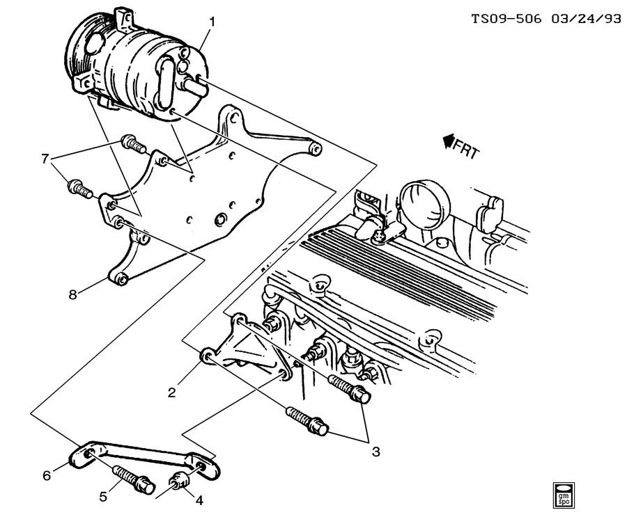 2005 Chevy Cobalt Power Steering Pump Location
