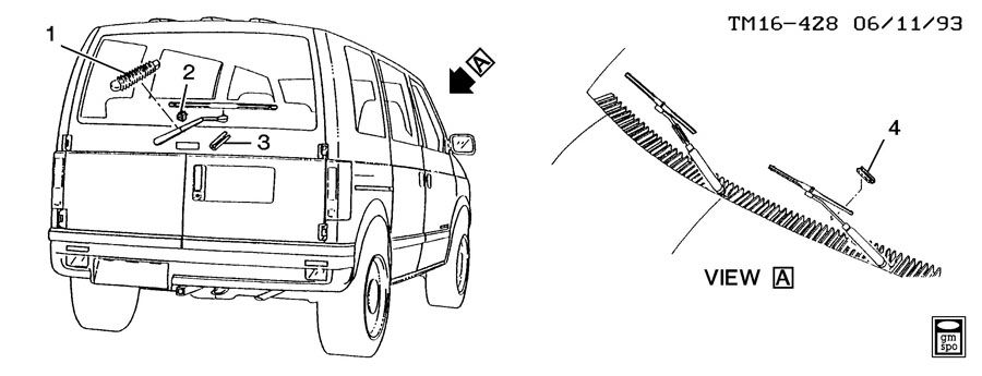 WIPER SYSTEM/WINDSHIELD AND REAR WINDOW