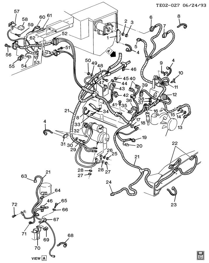 WIRING HARNESS/ENGINE