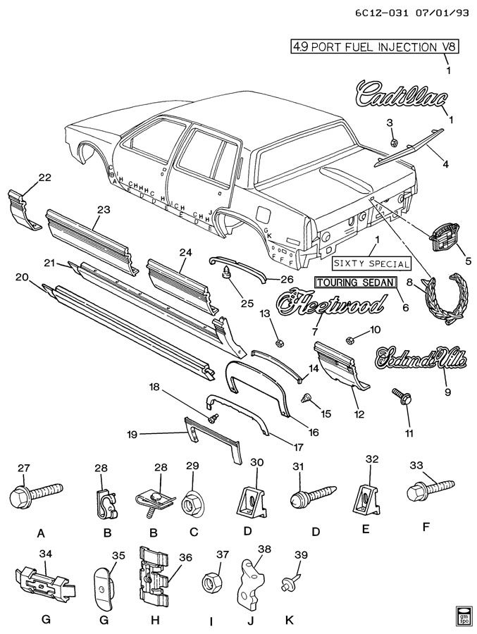 1993 Cadillac Deville Diagram, 1993, Get Free Image About