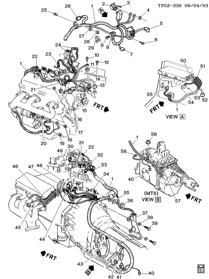 2000 Chevy Cavalier Wiring Diagram