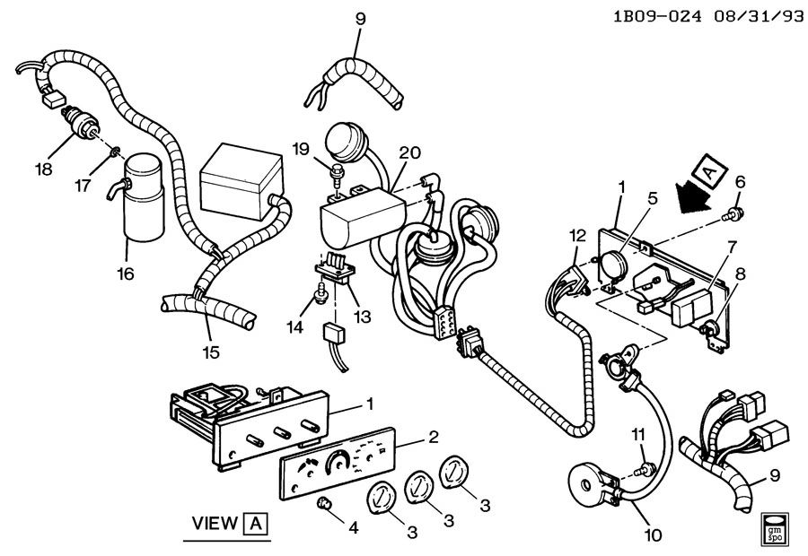 Gm Heater Wiring Harness Diagram