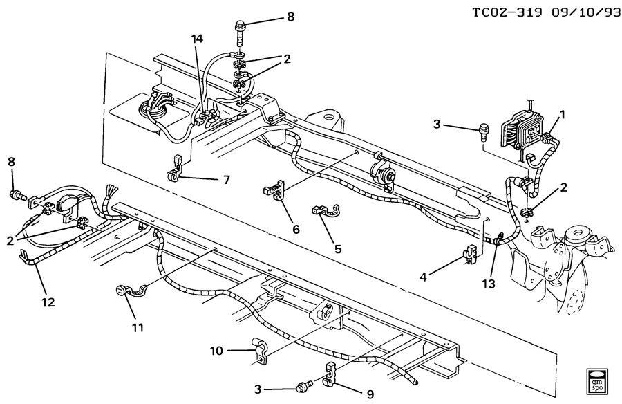 k1500 wiring harness