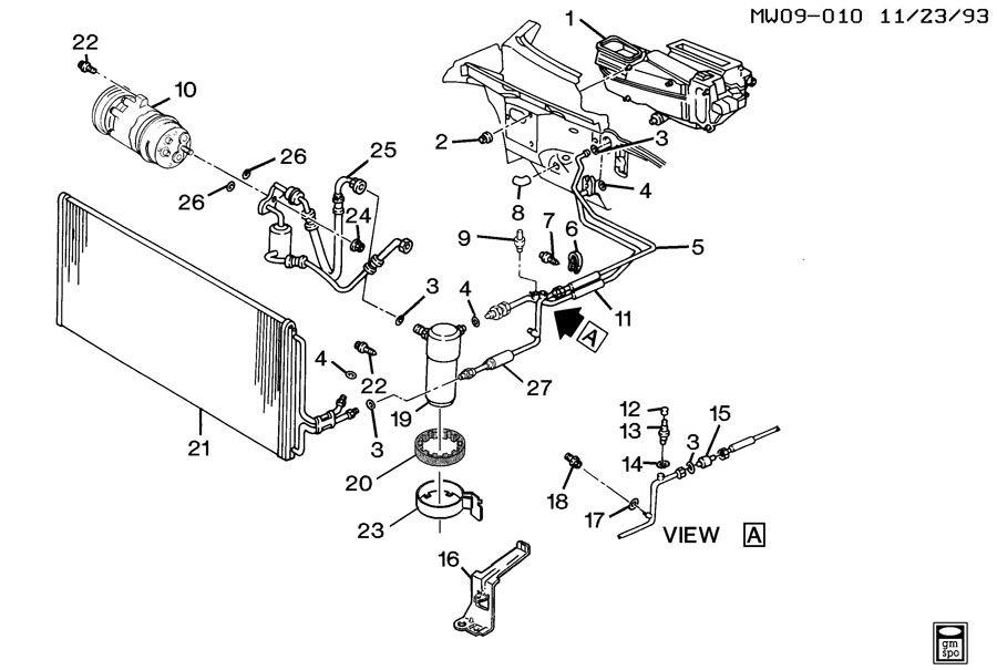 Chevrolet Lumina A/C REFRIGERATION SYSTEM