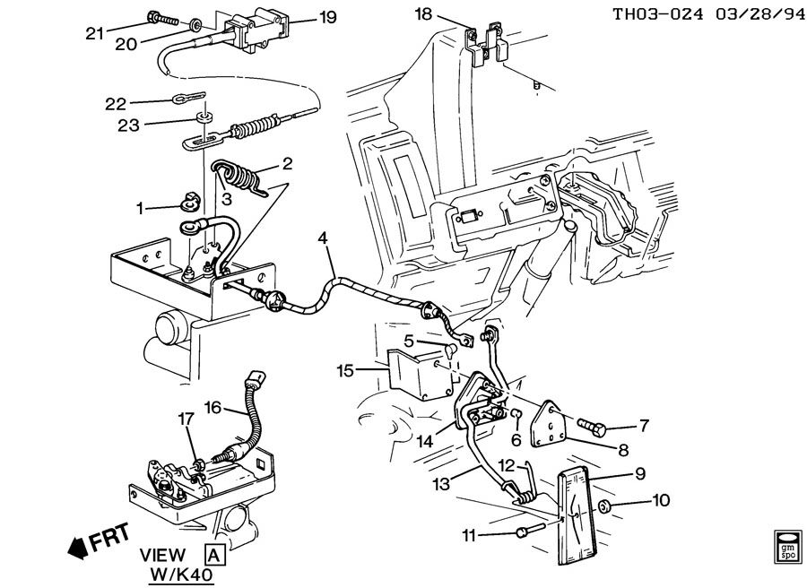 1990 Gmc Clutch Pedal Diagram 1990 GMC Steering Column