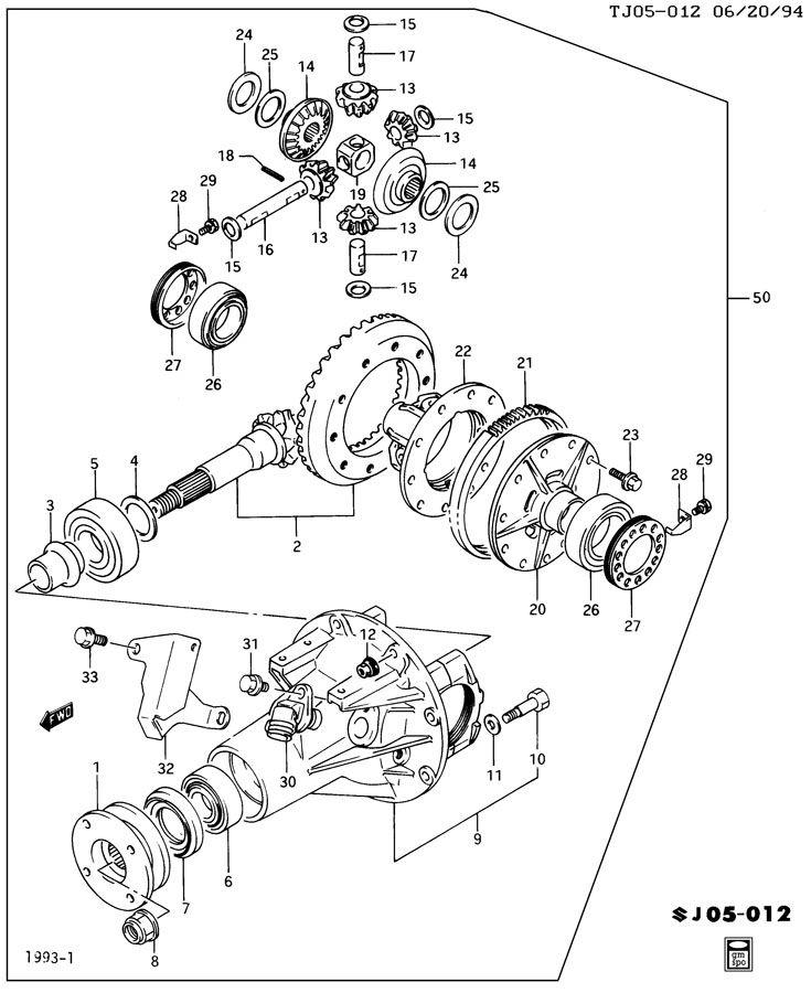 Service manual [1994 Oldsmobile Silhouette Rear