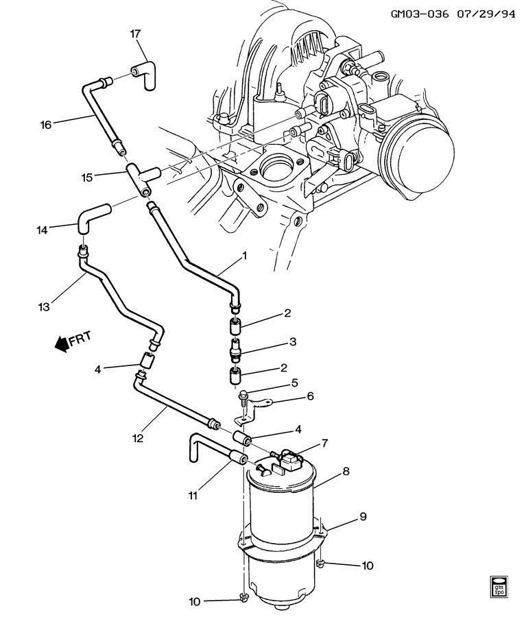 1995 Pontiac Bonneville Engine Diagram