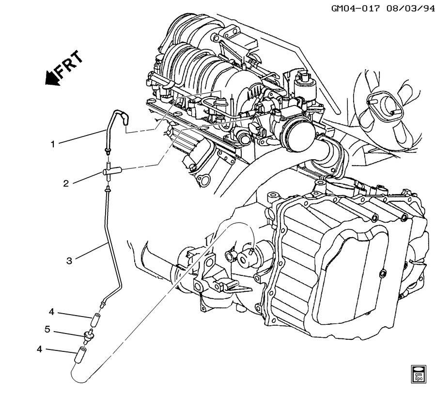 Service manual [1997 Oldsmobile 88 Modulator Pipe