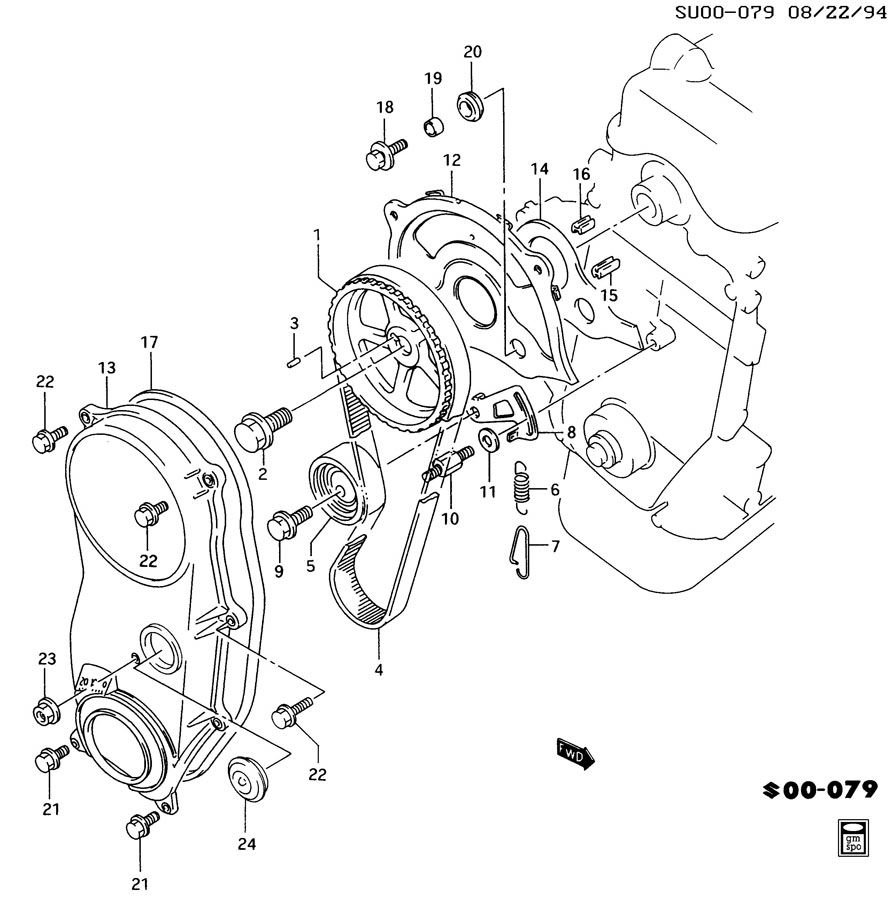 1994 geo metro 1 0l engine diagram