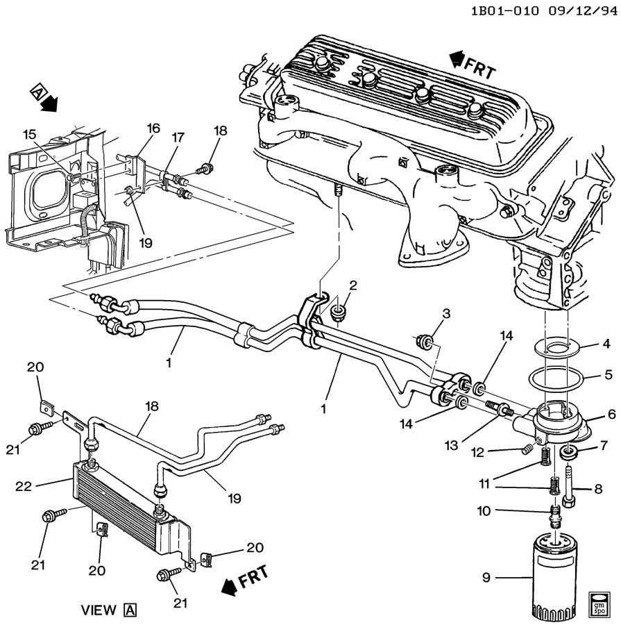 1996 chevy impala ss engine diagram