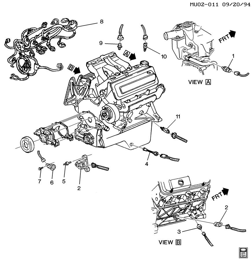 ELECTRICAL MISCELLANEOUS ENGINE SENSORS