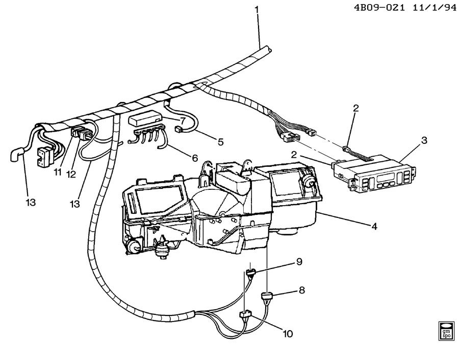 Corvette Temperature Sensor 95 Lt1 Wiring Harnes Diagram