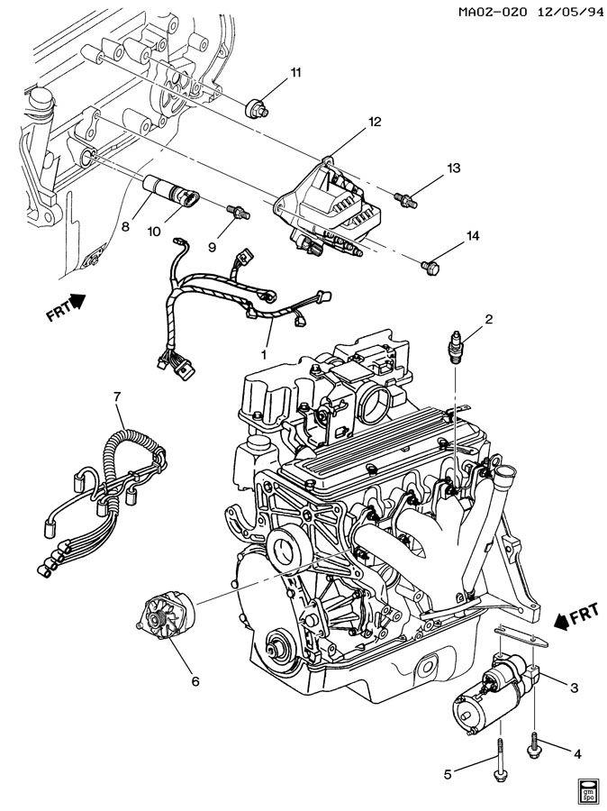 2001 Buick Century Spark Plug Wiring Diagram, 2001, Free