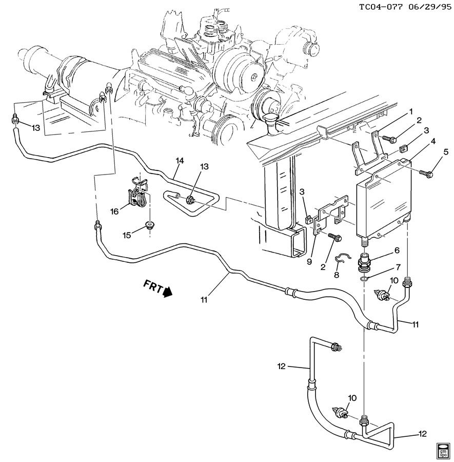 Gmc Envoy Transmission Cooler Line Diagram