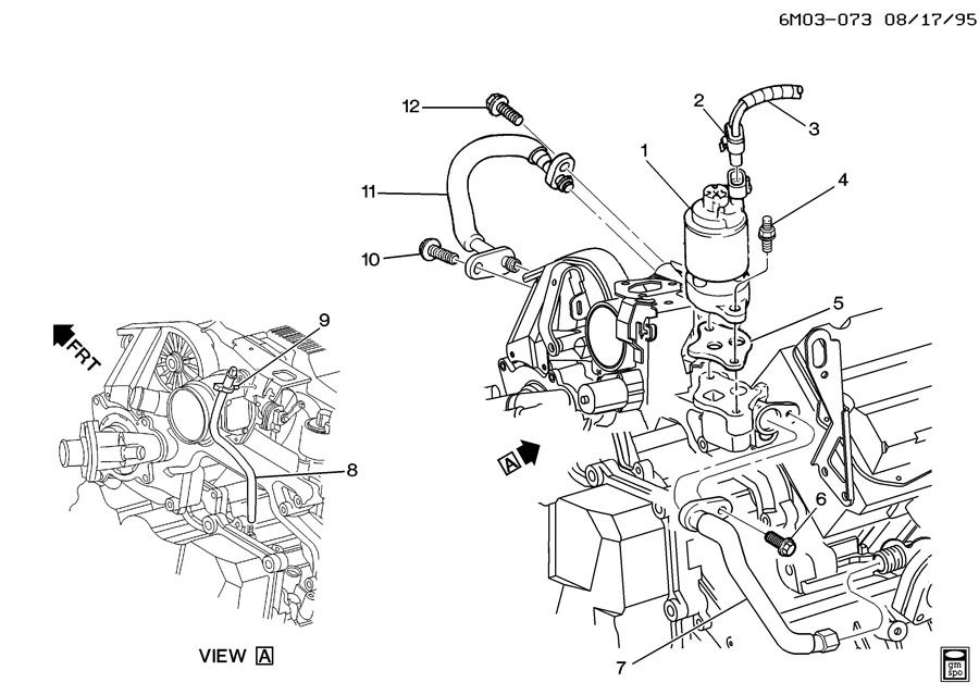 A Diagram Of 2002 Sls Cadillac Northstar V8 Engine Wiring