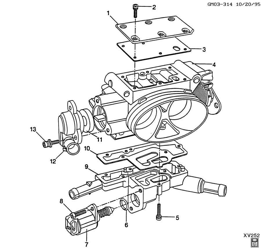 THROTTLE BODY/MPFI