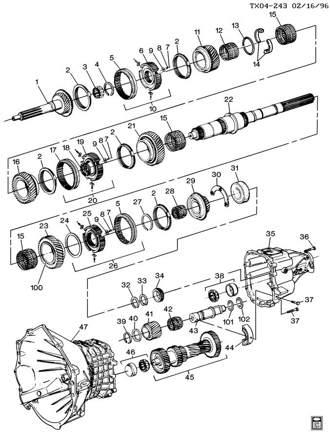 Service manual [Exploded View 1999 Gmc Yukon Manual