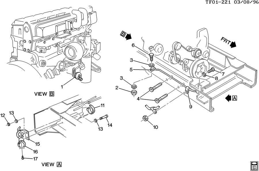 Diagram Of Gmc Engine Oil Cooler, Diagram, Free Engine