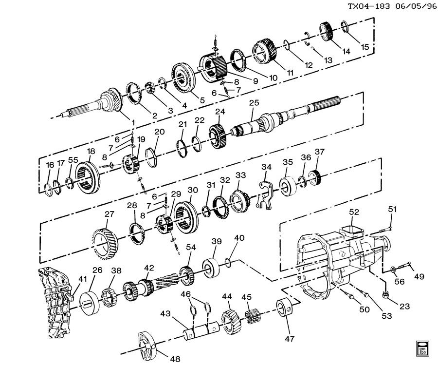Chevy Transmission Identification Diagram