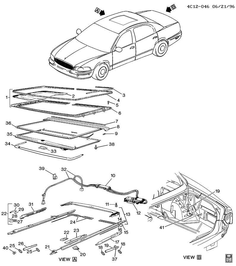 Service manual [2003 Buick Park Avenue Sunroof Repair