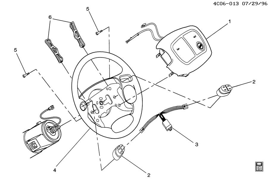 Buick STEERING WHEEL & HORN PARTS