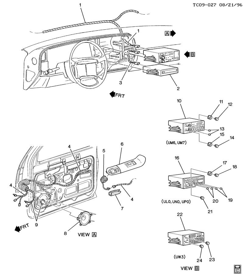 AUDIO SYSTEM/FRONT