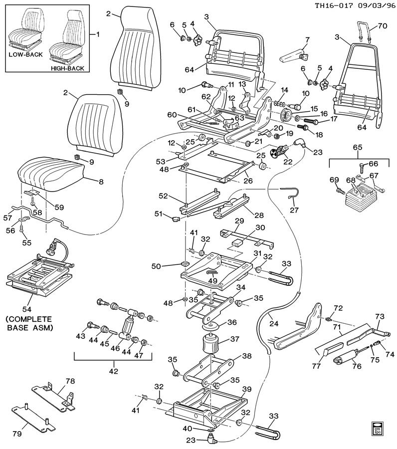 Air Ride Seat Wiring Diagram