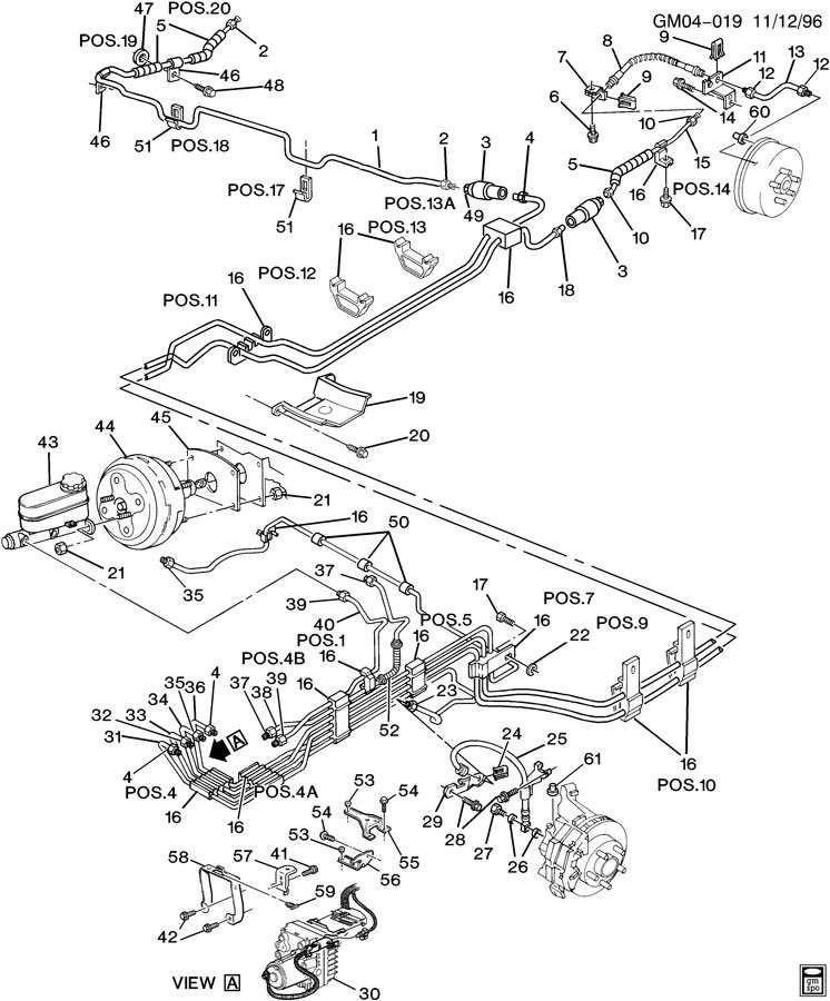 Silverado Brake Line Diagram On Cadillac Escalade 2007