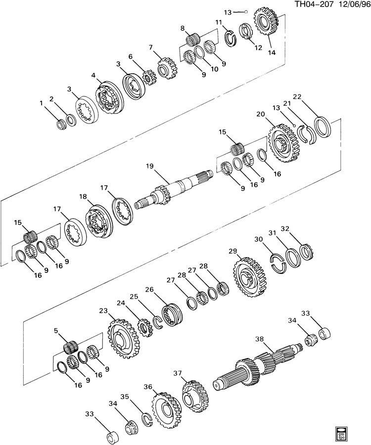 Eaton 13 Sd Transmission Air Line Diagram