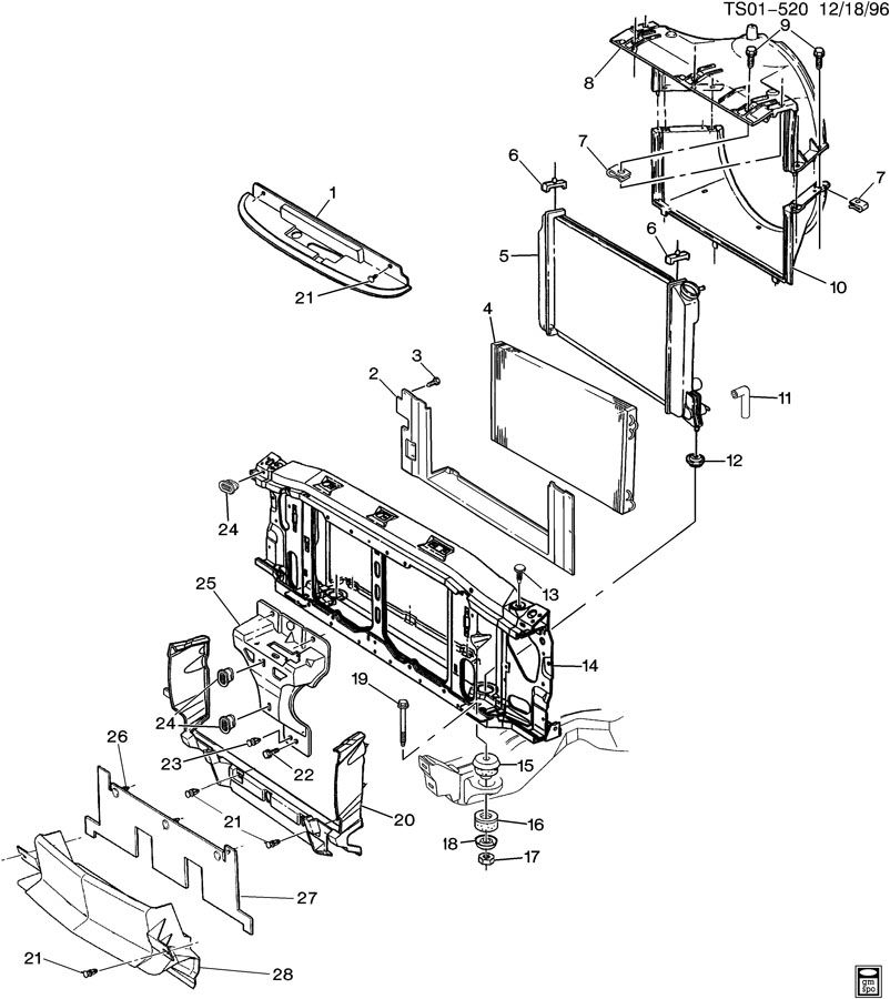 RADIATOR & RELATED PARTS