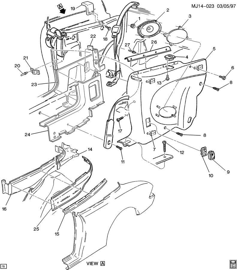 Pontiac TRIM/QUARTER