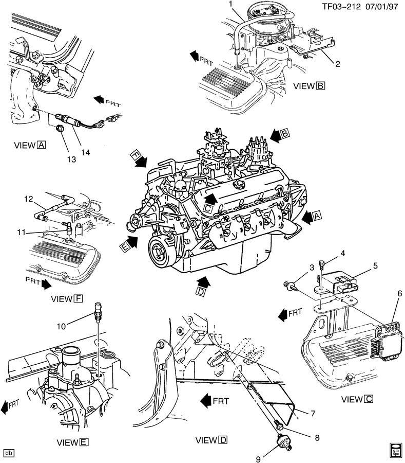 EMISSION CONTROLS-ENGINE COMPONENTS