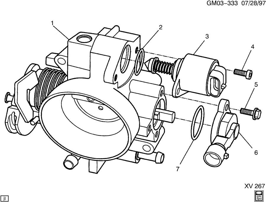 3 1l Engine Diagram For Oldsmobile 3.1L Motor Series 2