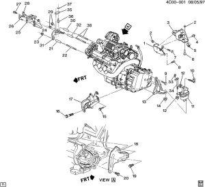 Buick Park Avenue Brake System Diagram Pictures