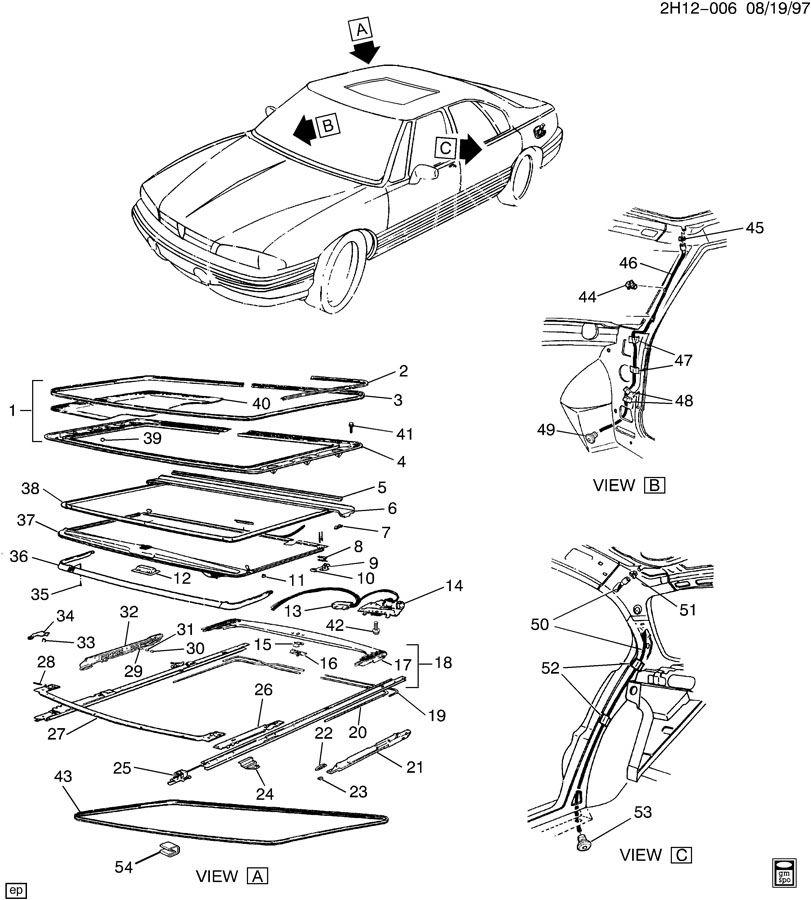 1993 Pontiac Bonneville SUNROOF