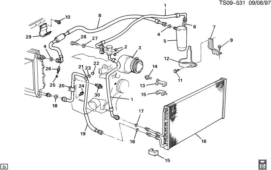 1995 gmc sonoma wiring harness
