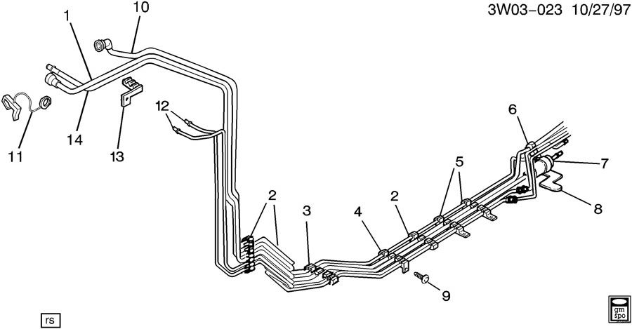 FUEL SUPPLY SYSTEM-FUEL LINES